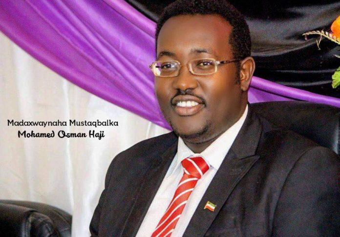 Sirta ka danbaysa inuu burburo qayb kamid ah heshiiskii u dhaxeeyay jamhuuriyada Somaliland iyo Imaraatka Carabta (WQ: Maxamed Cismaan))