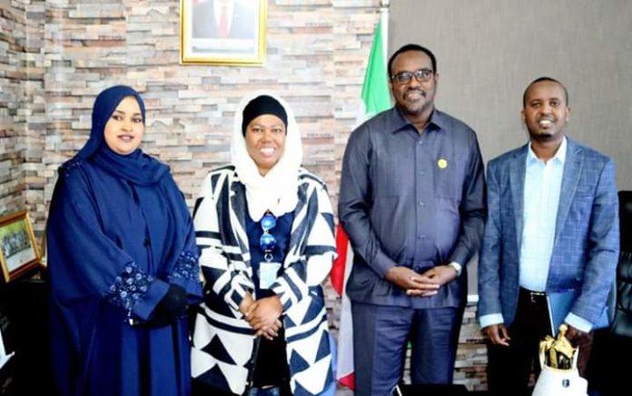 Wasiirka Warfaafinta Somaliland oo la Kulmay Saraakiil ka Tirsan UNSOM