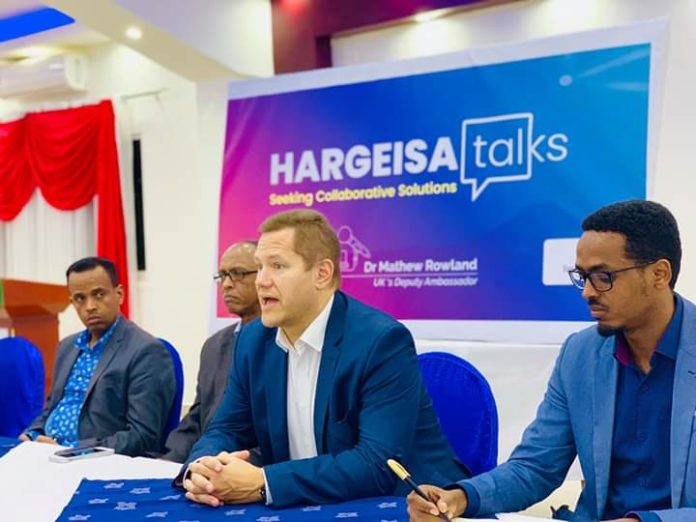 Inspire Group launches #HargeisaTalks with the UK Deputy Ambassador